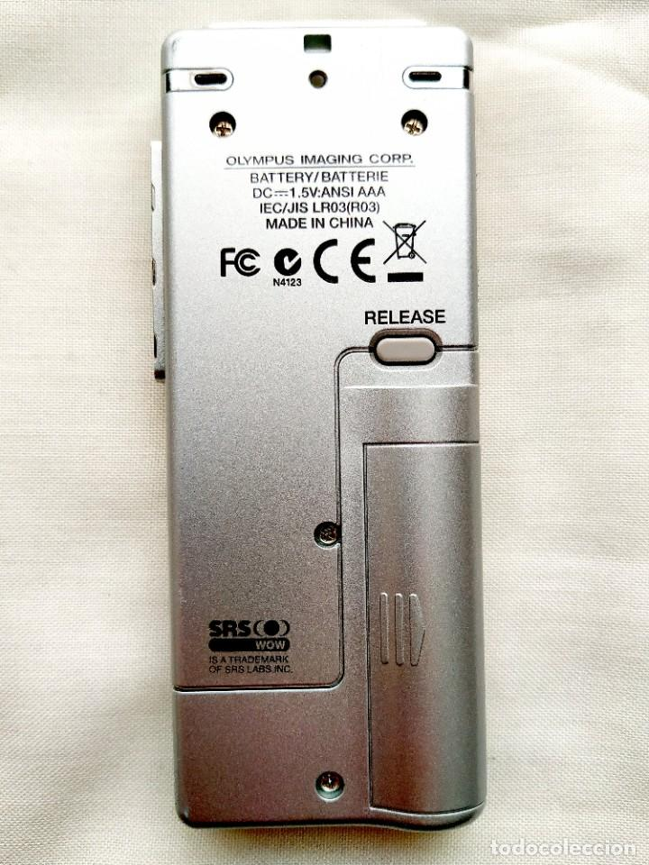 Segunda Mano: GRABADORA DIGITAL OLYMPUS - VOZ Y MÚSICA (AMBAS EN STEREO) - MEMORIA FLASH - USB - Foto 3 - 246132480