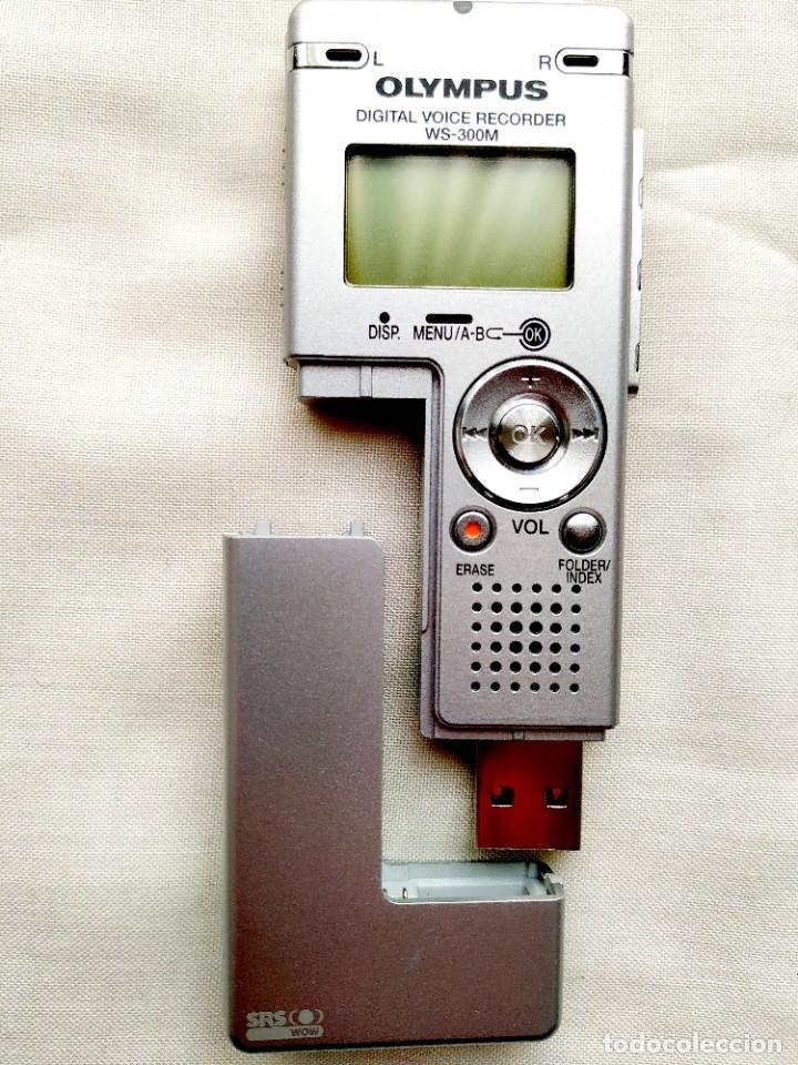 Segunda Mano: GRABADORA DIGITAL OLYMPUS - VOZ Y MÚSICA (AMBAS EN STEREO) - MEMORIA FLASH - USB - Foto 4 - 246132480