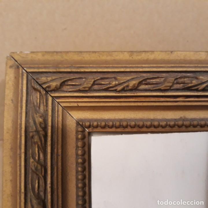 Segunda Mano: Marco dorado de madera 29 x 24,5 cm - Foto 2 - 251842870
