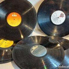 Segunda Mano: 50 DISCOS LP USADOS PARA TRABAJOS DE ARTESANÍA. MIRAR LAS FOTOS.. Lote 253083115