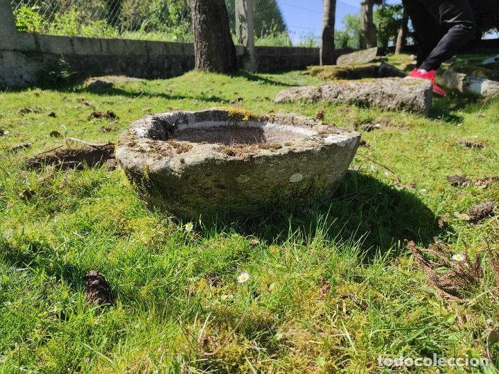 Segunda Mano: Pila redonda piedra - Foto 3 - 253417015