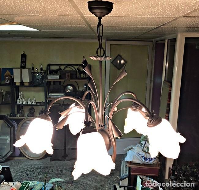 Segunda Mano: LAMPARA DE TECHO TULIPAN - Foto 6 - 253446885