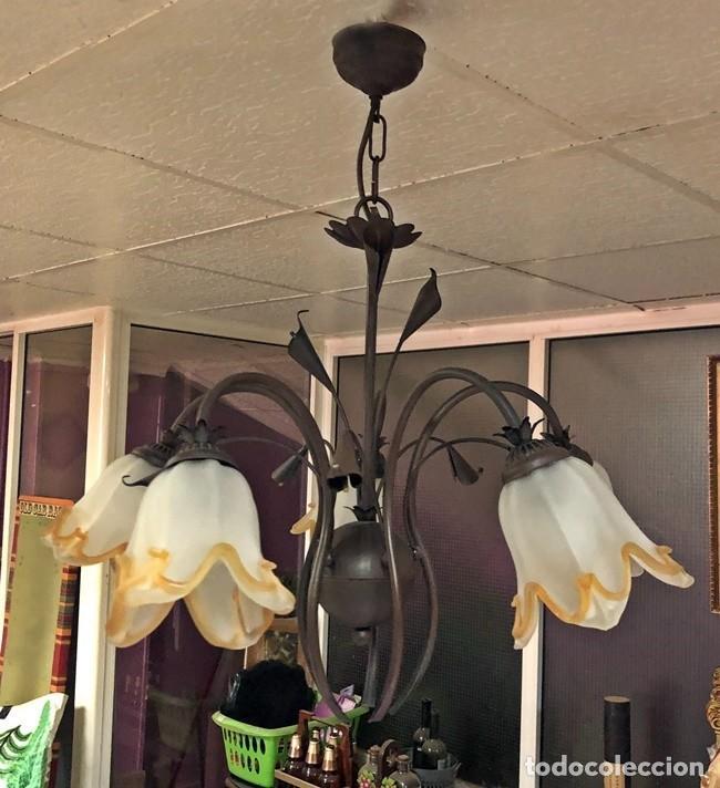 Segunda Mano: LAMPARA DE TECHO TULIPAN - Foto 7 - 253446885