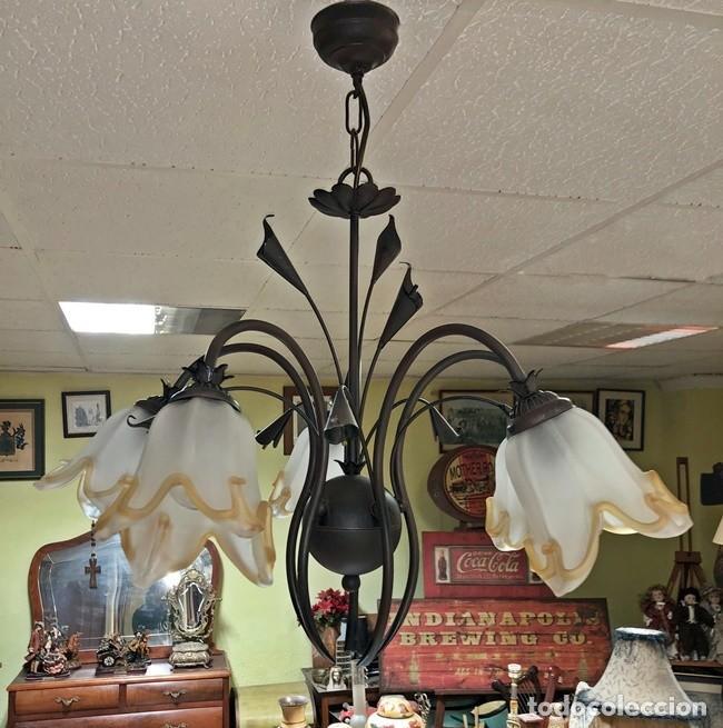 Segunda Mano: LAMPARA DE TECHO TULIPAN - Foto 8 - 253446885