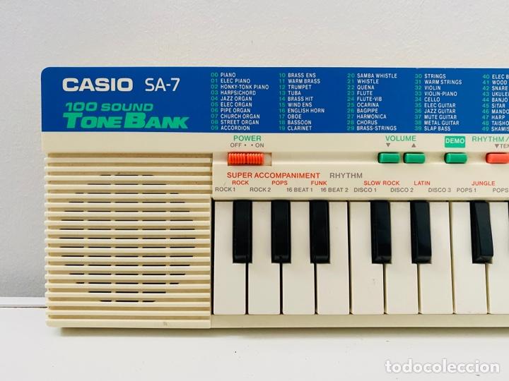 Segunda Mano: Casio SA-7 Synthesizer - Foto 2 - 253851785