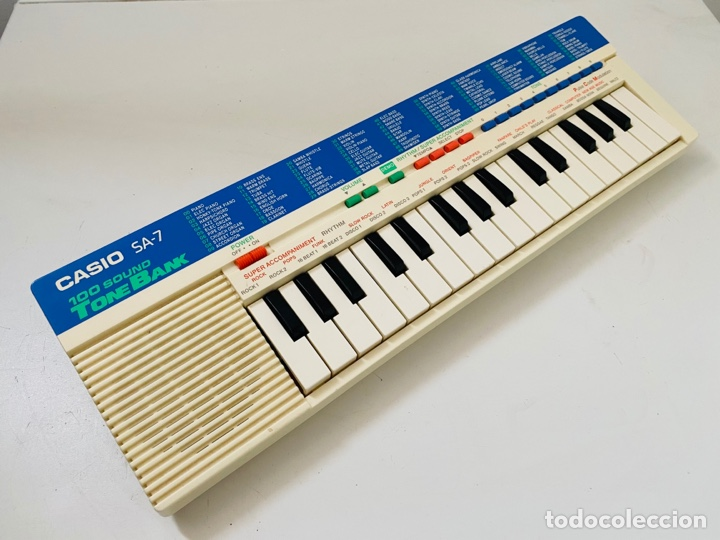 Segunda Mano: Casio SA-7 Synthesizer - Foto 4 - 253851785