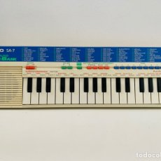 Segunda Mano: CASIO SA-7 SYNTHESIZER. Lote 253851785