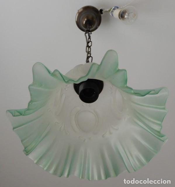 Segunda Mano: Lampe en verre vert. CC122 - Foto 5 - 253915325