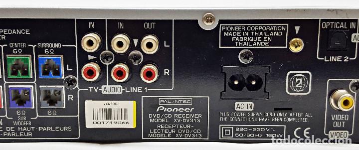 Segunda Mano: Reproductor de DVD/CD PIONEER XD DV-313. - Foto 7 - 254800455
