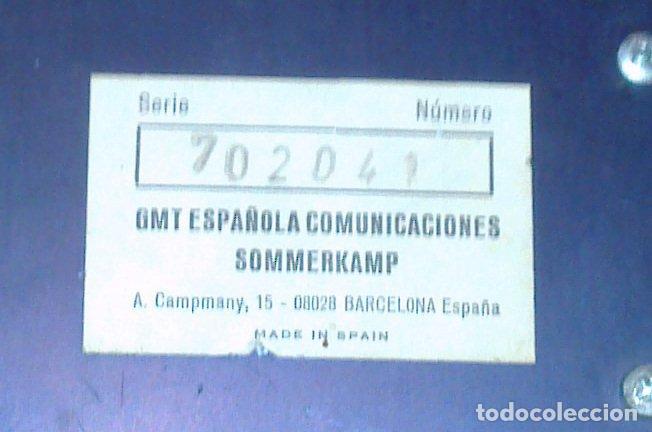 Segunda Mano: Fuente de Alimentación 12v SOMMERKAMP FP-1015 Regulated Power Supply GMT Española Comunicaciones BCN - Foto 2 - 260065390