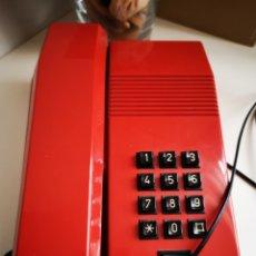 Segunda Mano: TELÉFONO MOD. TEIDE EN COLOR ROJO, FUNCIONA. Lote 261192475