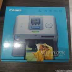 Segunda Mano: IMPRESORA CANON SELPHY CP710 PARA FOTOS NUEVA. Lote 262128665