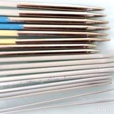 Segunda Mano: 18 AGUJAS - FOTO 1087 - 8 PARES - MEDIDAS DE 2 A 6 - DE 42 CTS.. Lote 262444125