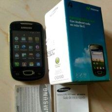 Segunda Mano: TELÉFONO MÓVIL SAMSUNG GALAXY MINI S5570. Lote 263045840