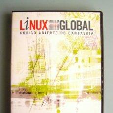 Segunda Mano: CD LINUX GLOBAL GNU/LINUX - CÓDIGO ABIERTO DE CANTABRIA - 2004. Lote 263658855