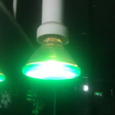 Segunda Mano: LAMPARA O BOMBILLA PHILIPPS COLOR VERDE PAR 38 EC FLOOD 220-230 V 80W M7. Lote 264264216