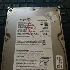 """Segunda Mano: DISCO DURO 3.5"""" SEAGATE 250GB SATA ST3250824AS. Lote 268862649"""