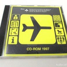 Segunda Mano: CD-ROM 1997 DEL AEROPUERTO DE PALMA DE MALLORCA. Lote 268943579