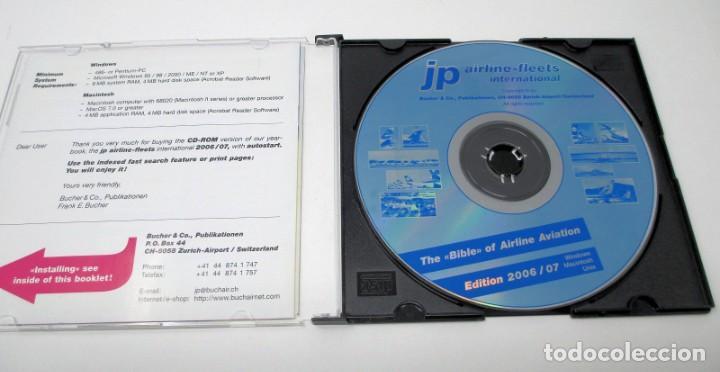 Segunda Mano: CD JP Airline Fleets International (2006/7) - La Biblia de las Cías. Aéreas del Mundo. - Foto 2 - 268995599