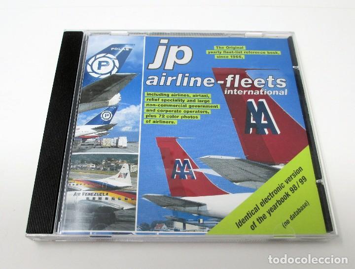 CD JP AIRLINE FLEETS INTERNATIONAL (1998/99) - LA BIBLIA DE LAS CÍAS. AÉREAS DEL MUNDO. (Segunda Mano - Otros)