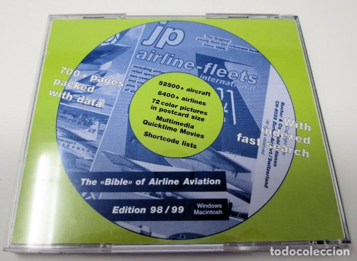 Segunda Mano: CD JP Airline Fleets International (1998/99) - La Biblia de las Cías. Aéreas del Mundo. - Foto 2 - 268995739