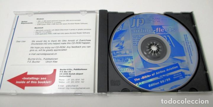 Segunda Mano: CD JP Airline Fleets International (1998/99) - La Biblia de las Cías. Aéreas del Mundo. - Foto 3 - 268995739