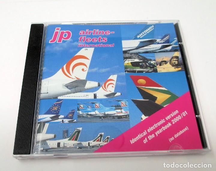 CD JP AIRLINE FLEETS INTERNATIONAL (2000/01) - LA BIBLIA DE LAS CÍAS. AÉREAS DEL MUNDO. (Segunda Mano - Otros)