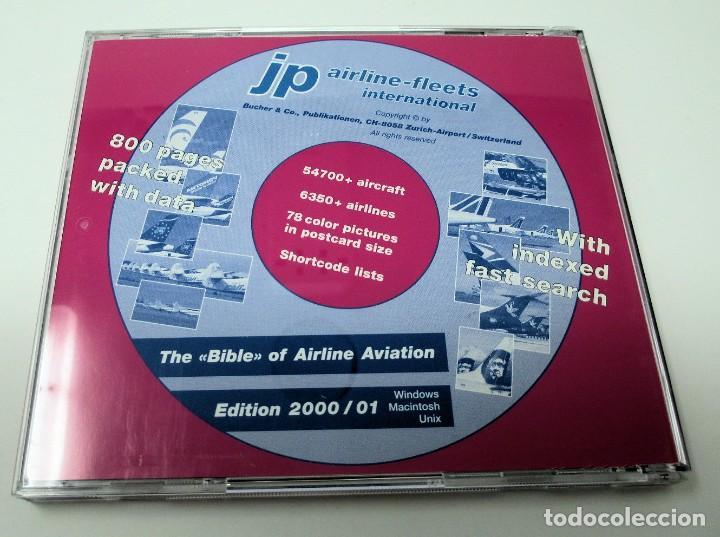Segunda Mano: CD JP Airline Fleets International (2000/01) - La Biblia de las Cías. Aéreas del Mundo. - Foto 2 - 268996199