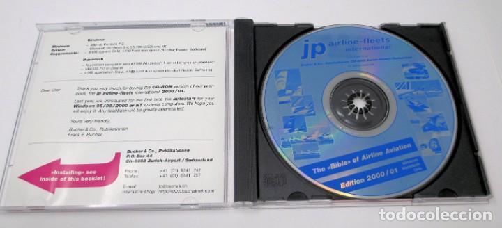 Segunda Mano: CD JP Airline Fleets International (2000/01) - La Biblia de las Cías. Aéreas del Mundo. - Foto 3 - 268996199