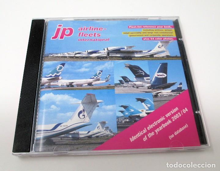 CD JP AIRLINE FLEETS INTERNATIONAL (2003/04) - LA BIBLIA DE LAS CÍAS. AÉREAS DEL MUNDO. (Segunda Mano - Otros)