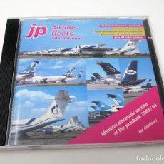 Segunda Mano: CD JP AIRLINE FLEETS INTERNATIONAL (2003/04) - LA BIBLIA DE LAS CÍAS. AÉREAS DEL MUNDO.. Lote 268996479