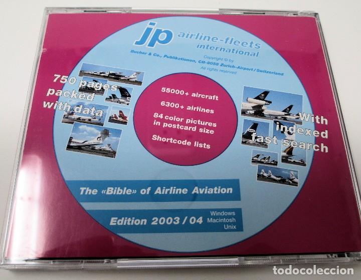 Segunda Mano: CD JP Airline Fleets International (2003/04) - La Biblia de las Cías. Aéreas del Mundo. - Foto 2 - 268996479