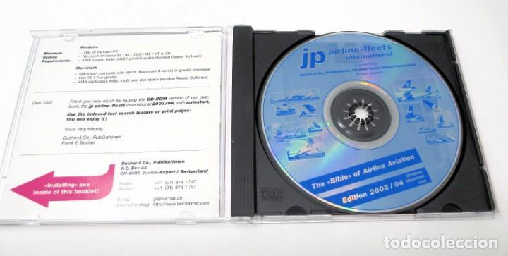 Segunda Mano: CD JP Airline Fleets International (2003/04) - La Biblia de las Cías. Aéreas del Mundo. - Foto 3 - 268996479