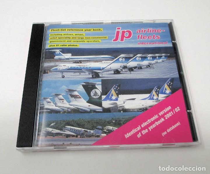 CD JP AIRLINE FLEETS INTERNATIONAL (2001/02) - LA BIBLIA DE LAS CÍAS. AÉREAS DEL MUNDO. (Segunda Mano - Otros)