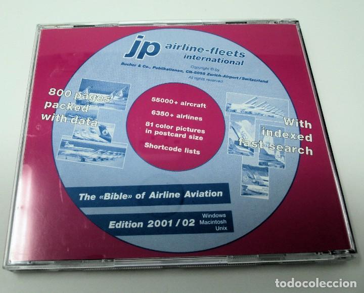 Segunda Mano: CD JP Airline Fleets International (2001/02) - La Biblia de las Cías. Aéreas del Mundo. - Foto 2 - 268996849