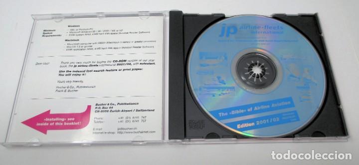 Segunda Mano: CD JP Airline Fleets International (2001/02) - La Biblia de las Cías. Aéreas del Mundo. - Foto 3 - 268996849