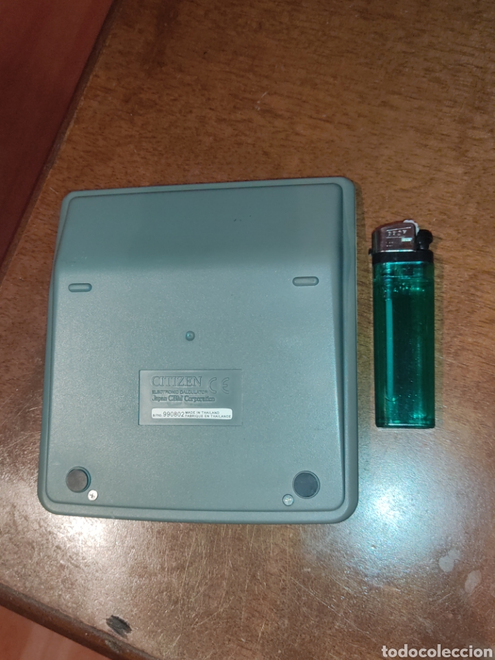 Segunda Mano: Calculadora solar Citizen SDC-330 Japon CBM corporation. - Foto 5 - 273466983