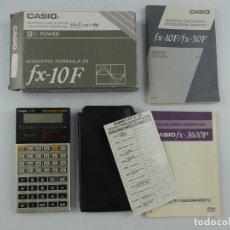 Seconda Mano: CALCULADORA CIENTIFICA CASIO FX-10F CON CAJA Y INSTRUCCIONES. Lote 275067563