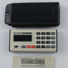 Segunda Mano: CALCULADORA CASIO MINI CM-605 CON INSTRUCCIONES Y FUNDA. Lote 275068433