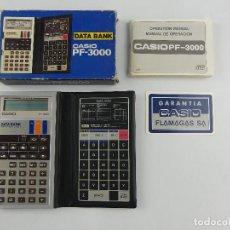 Seconda Mano: CALCULADORA CASIO PF-3000 DATA BANK - EN SU CAJA ORIGINAL. Lote 275068883