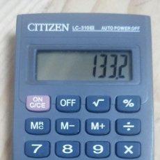 Segunda Mano: CALCULADORA CITIZEN LC-310III. Lote 275299338