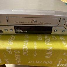 Segunda Mano: VIDEO VHS DE 6 CABEZALES, DE LG. LA PARTE SUPERIOR TIENE RAZONES.. Lote 275956943