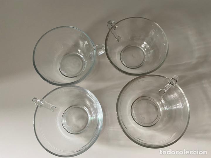 Segunda Mano: Cuencos con asas o tazas de desayuno y café cristal - Foto 2 - 277160458