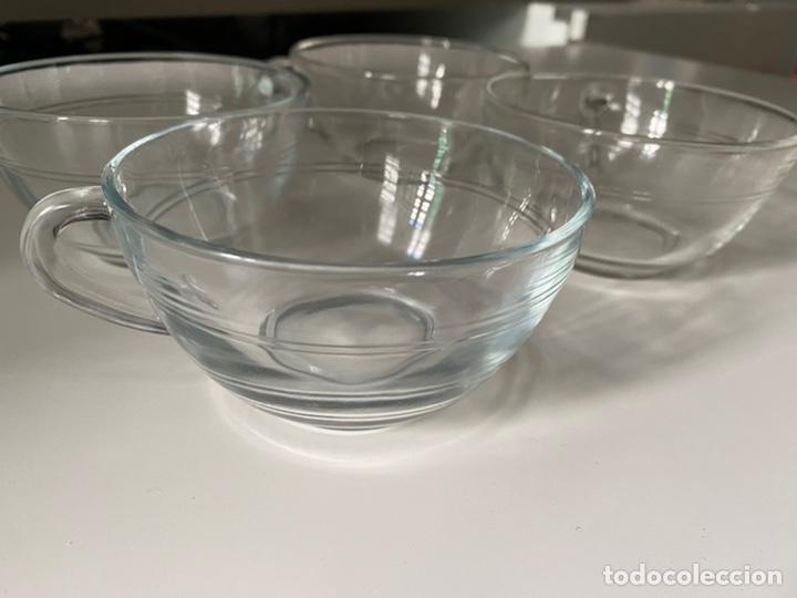 Segunda Mano: Cuencos con asas o tazas de desayuno y café cristal - Foto 3 - 277160458