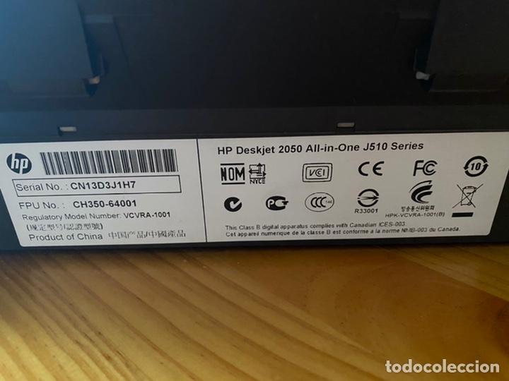 Segunda Mano: Impresora y escáner hp desktop 2050 multifuncion - Foto 5 - 277161823