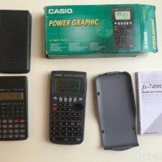 Segunda Mano: CALCULADORAS CASIO FX 7400G PLUS-GY Y XF-82SX. Lote 277175823