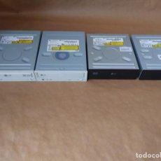 Segunda Mano: 4 COMPONENTES INTERNOS DE ORDENADOR CD DVD.. Lote 278265563