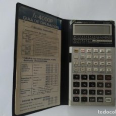 Segunda Mano: CALCULADORA CASIO FX-4000P FX4000P. MUY BUEN ESTADO CON FUNDA, CAJA Y LIBRO DE INSTRUCCIONES. Lote 278555908