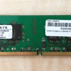Segunda Mano: MEMORIA RAM DDR2 1GB - KINGSTON. Lote 278641618