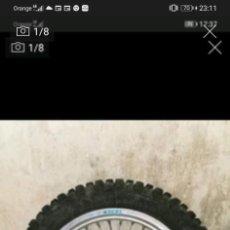 Segunda Mano: RUEDA TRASERA MOTO HUSQVARNA TAKASAGO EXCEL RIM. 18. Lote 278840308